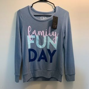 CHASER | Family Fun Day Crew Pullover Sweatshirt